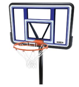 lifetime portable basketball system backboard