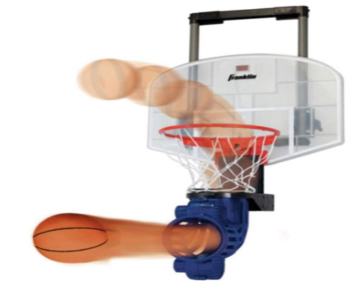 Franklin Sports Mini Basketball Hoop with Rebounder and Ball