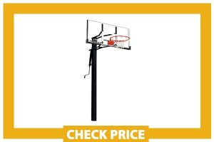 """Silverback 54"""" In-Ground Height Adjustable Basketball System"""