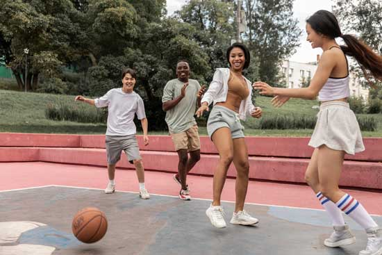 is playing basketball a good workout